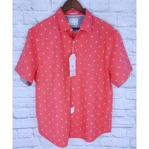 Denim & Flower NWT Poplin Shirt, Size XL